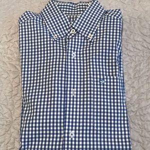Southern Tide Gingham long sleeve shirt